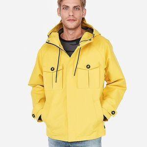Heavy Duty Parka | Express hooded rain jacket new